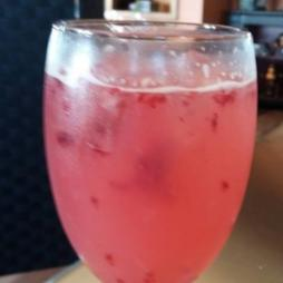 Raspberry Lemonade White Wine Cocktail